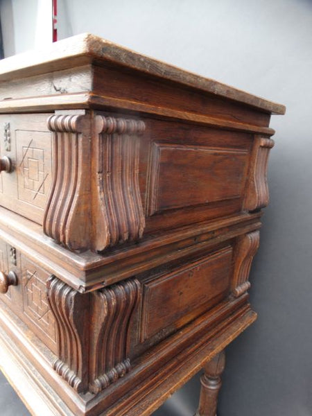 18th Century Spanish/Continental Chest on Stand