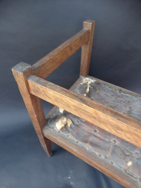 """Square"" Early Arts & Crafts Chair"
