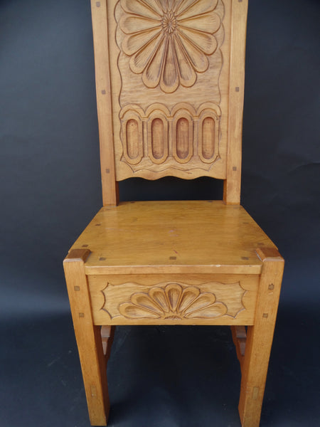 Elidio Gonzales Taos New Mexico Custom Chair (1971)