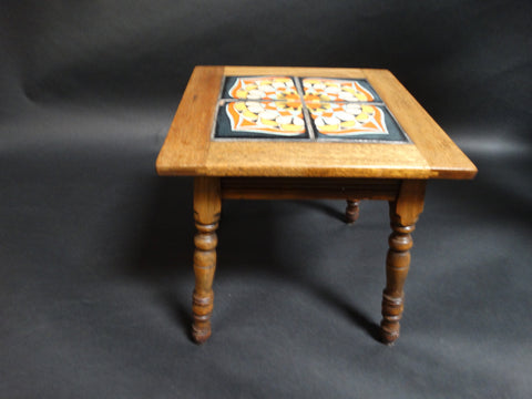 Taylor 4-Tile Table, RARE