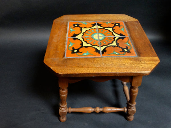 Taylor 4-Tile Table, Sunburst