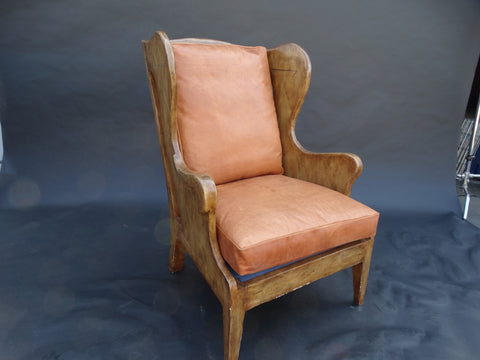 Windsor Wing Back Chair 1920s style