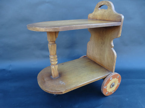 Coronado Juan Duran Tinoco-decorated Table-cart