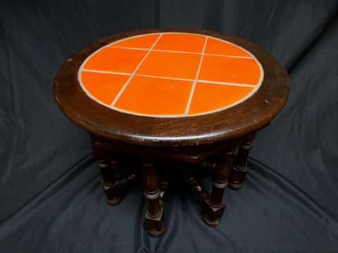 Catalina 9-Tile Moorish Table