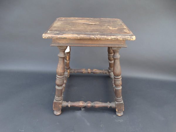 1900 Century Spanish Revival Stool