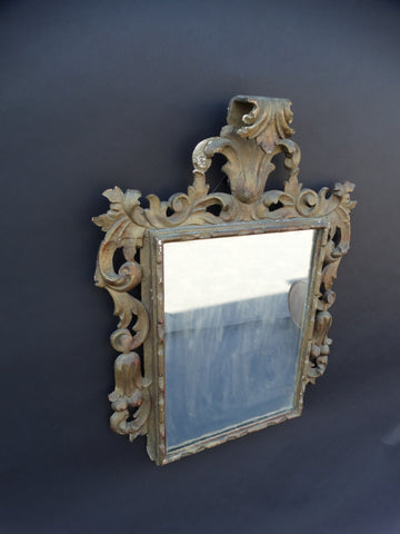 19th Century Spanish Mirror