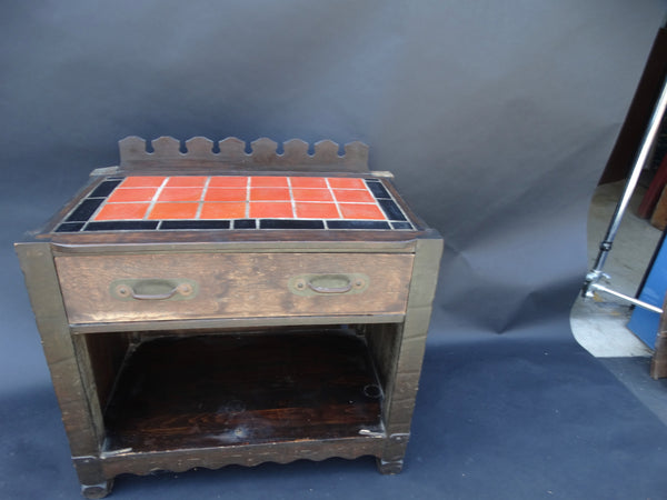 Monterey Classic Prohibition Bar Base with Catalina Island Tiles