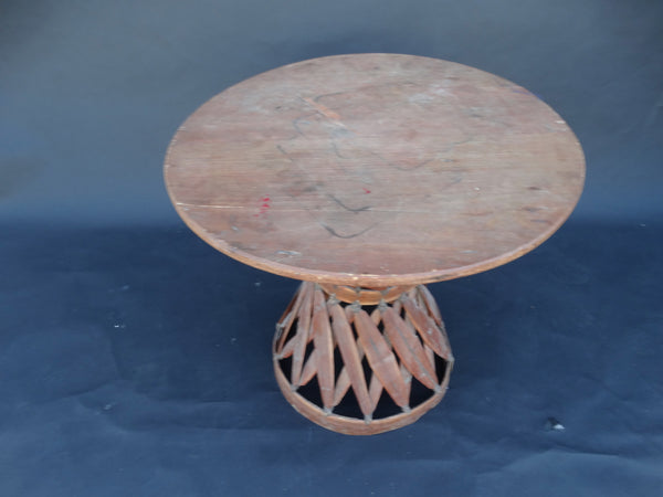 Mexican Equipale Table 1930s