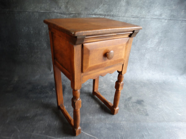 Pair of Monterey Bedside Tables in Smokey Maple circa 1935 F2180
