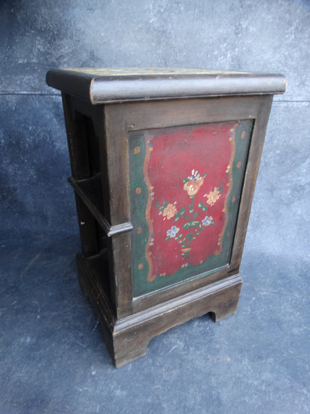 Monterey Night Stand with Hispano-Moresque Tile Top circa 1930 F2191