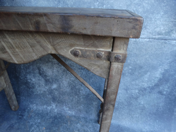 Monterey Old Wood Entry Table circa 1929 F2193
