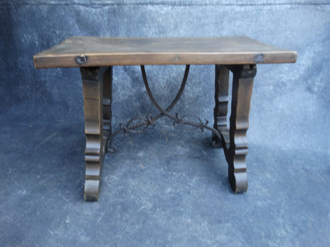 Monterey Spanish Style Side Table or Bench F2194