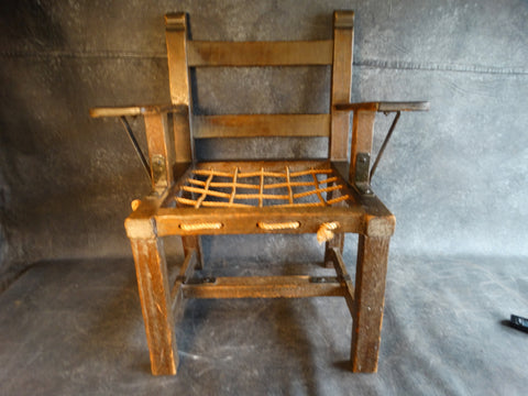 Imperial Classic Rope Seat Arm Chair circa 1929 F2196