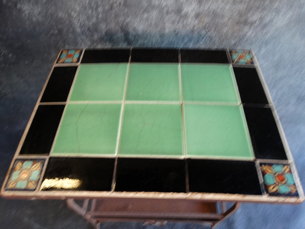 Spanish Revival Tile Top Table F2197