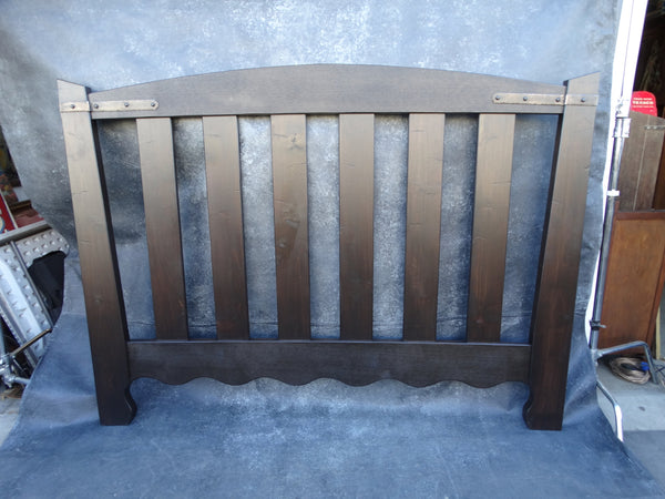 Monterey A-Frame Style Custom Made King Size Bed Head Board F2220