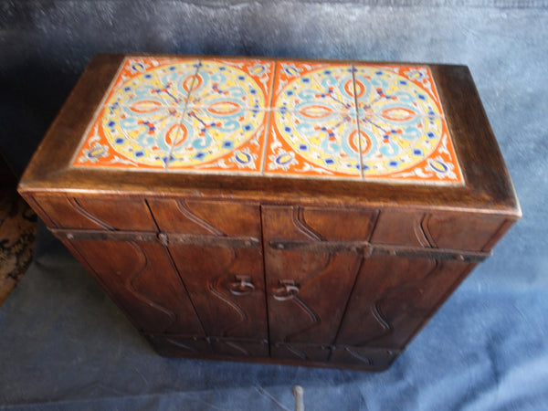 Imperial Monterey Style D&M tile top Server F2233