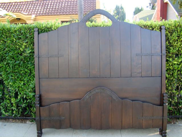 Custom Made Monterey-style Key Hole Bed Available to Order