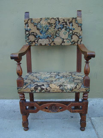 Spanish Colonial 18th Century Arm Chair