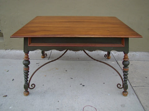 Spanish Revival Fred Martin Co. Table
