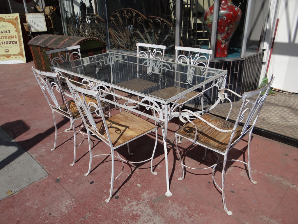 Salterini [1928-1953] Wrought Iron Outdoor Patio Furniture