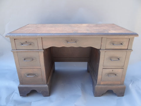 Monterey Classic Old Wood Desk