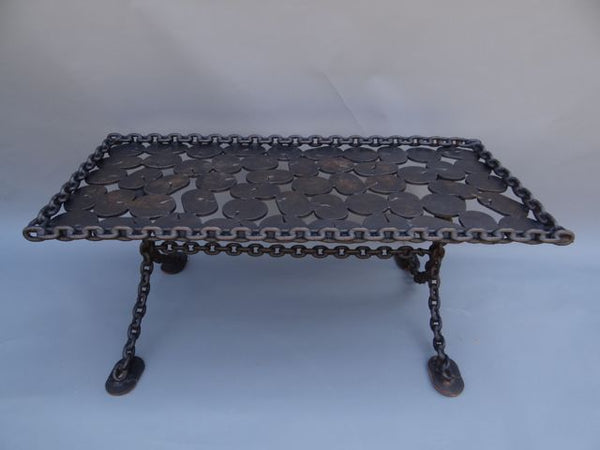 Industrial Chain Coffee Table