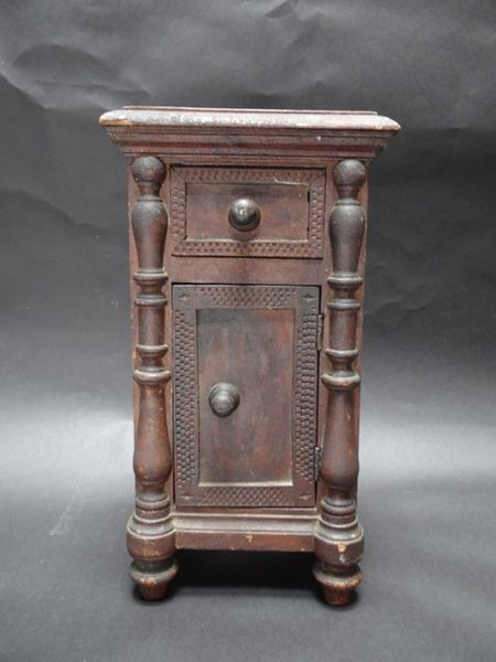 19th Century Mexican Colonial Style Spice Cabinet