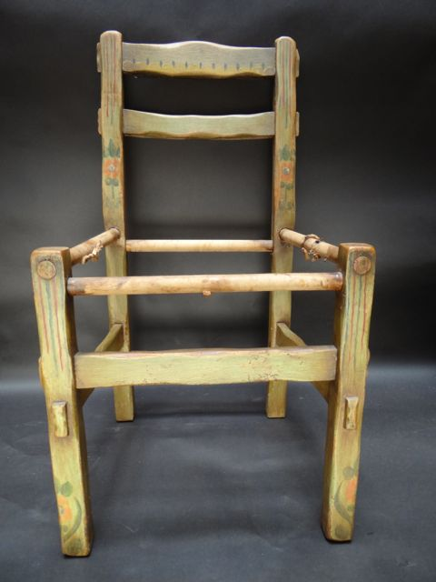 Monterey/Coronado Green Side Chair Frame