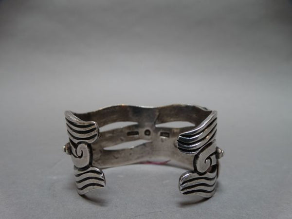 Mexican Spratling Double-Band Silver Cuff