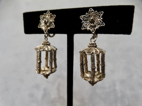 "Filigree ""Lantern"" Earrings"