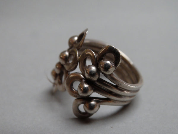 Mexican Hand Forged Silver Ring