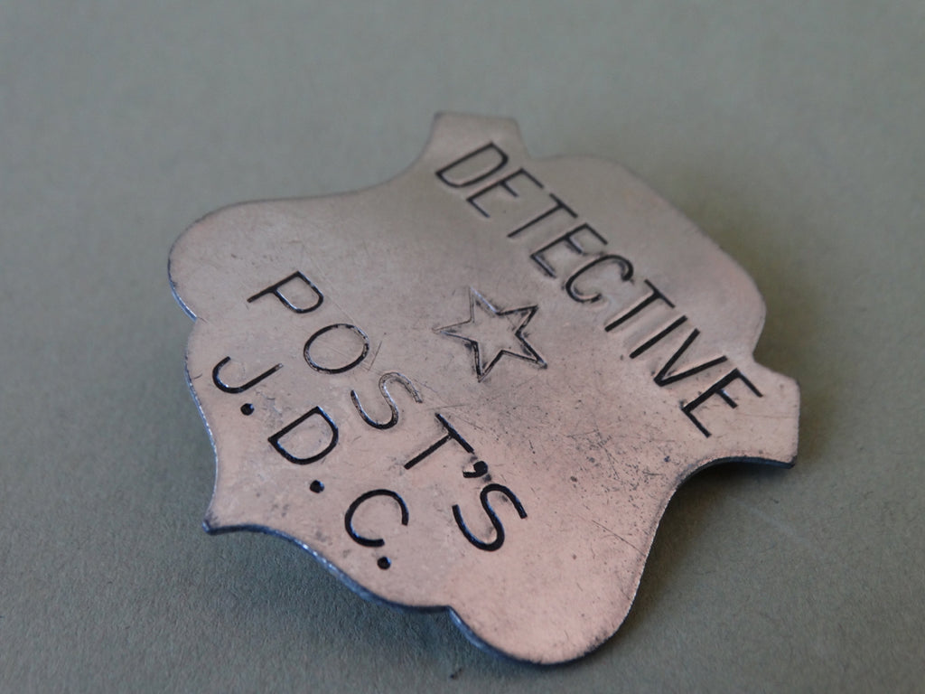 Detective Badge from the 1930s