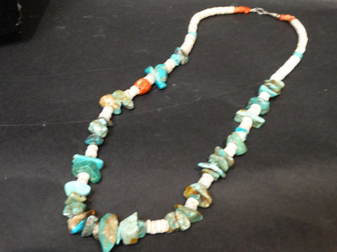 Navajo Heche Single Strand Necklace