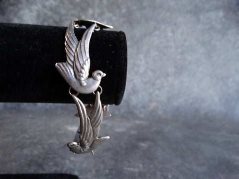Los Castillo Sparrows Linked Bracelet c 1940 J419