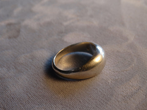 Simple William Spratling Silver Ring circa 1940s J444