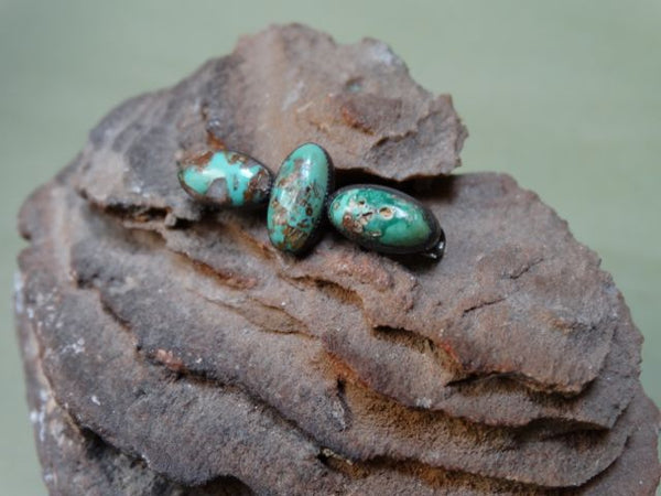 Navajo Turquoise and Silver Pin