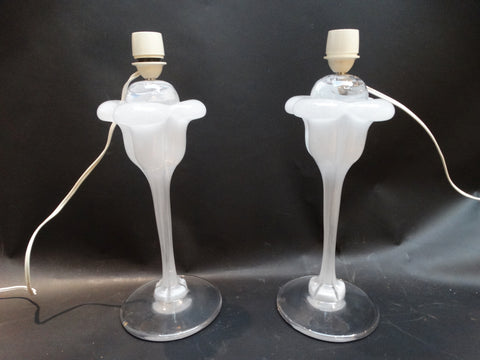 Pair of Lamps by Daum of France