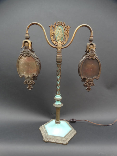 1920s Spanish Revival Boudoir Lamp