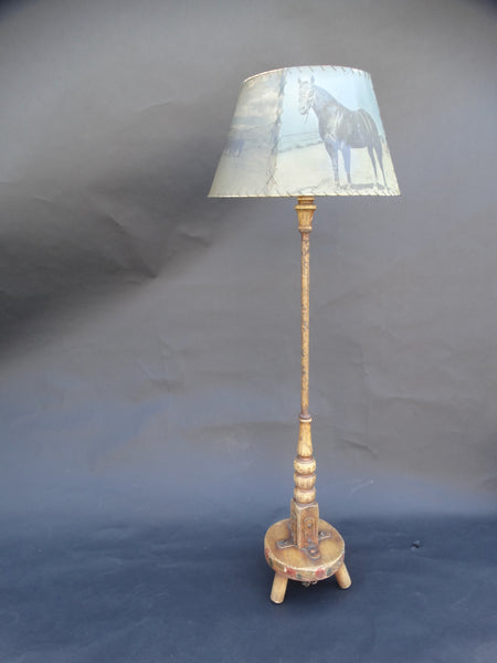 Coronado Milk Stool Floor Lamp
