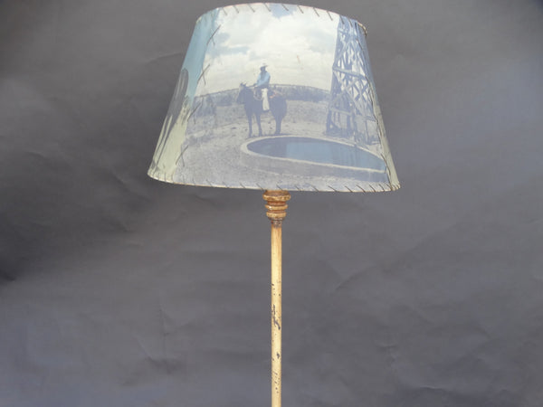 Coronado Floor Lamp with Tiered Base