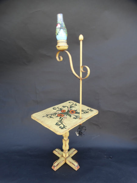 Del Rey Restored Floor Table Lamp