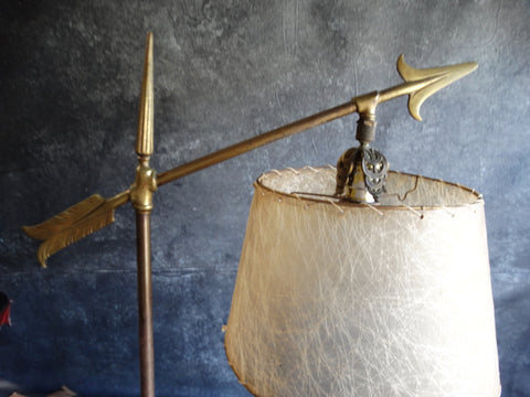 1920s Arrow Motif Lamp L662
