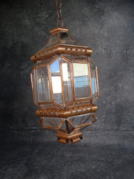 Mexican Copper Lantern by Hector Aguilar L677