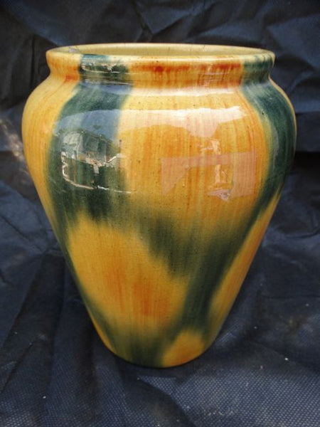 Pacific Pottery Blended Yellow/Green Vase