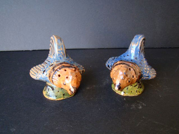 Mexican Pottery Fish Salt & Pepper Shakers