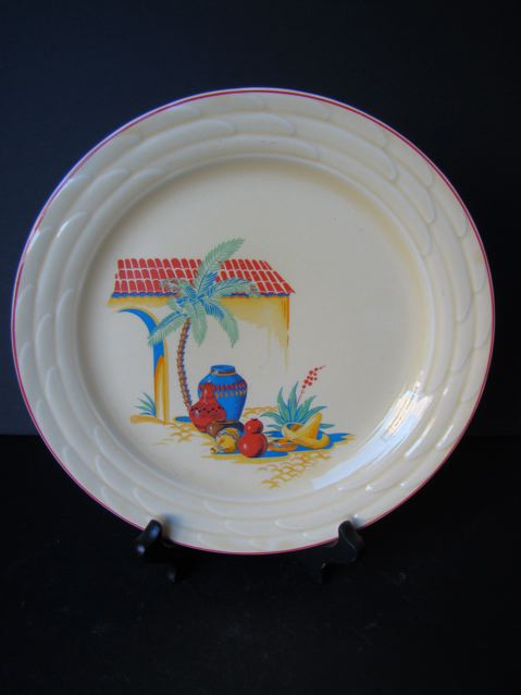 Homer Laughlin China 6″ Plate