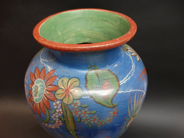 Mexican Burnished Pot