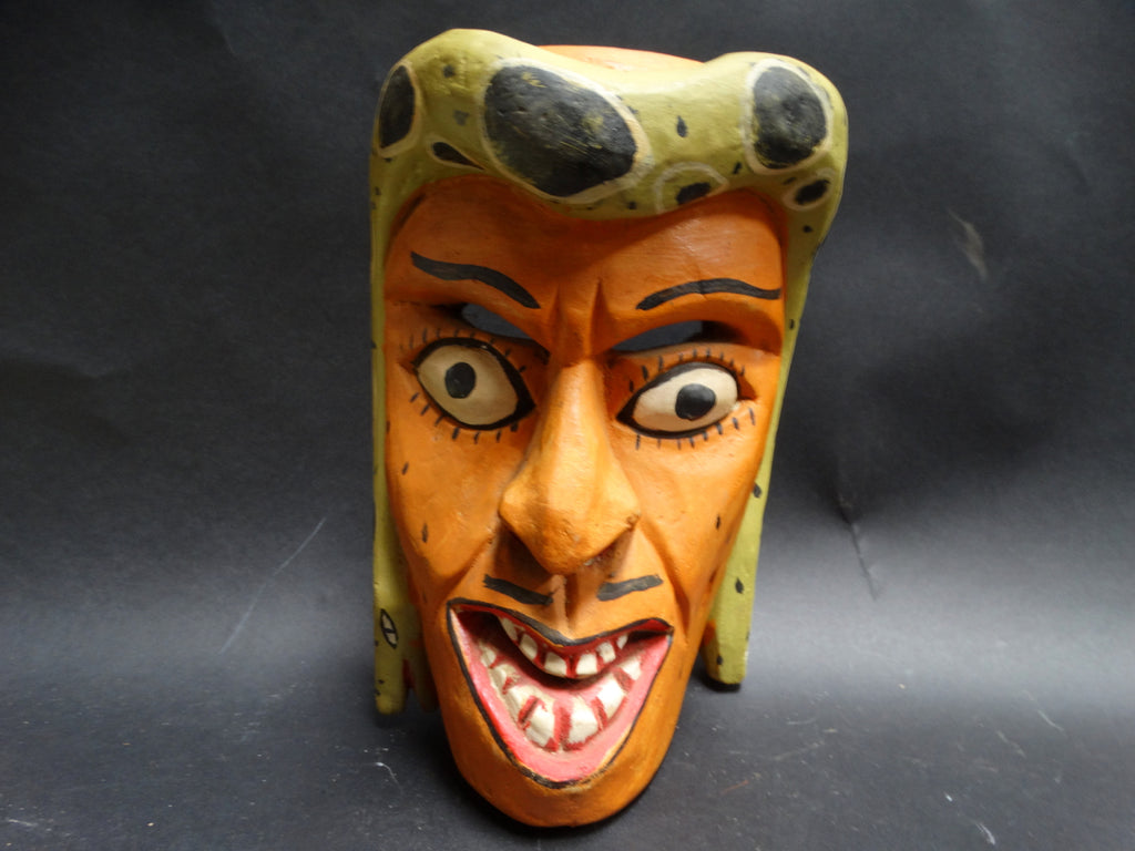 Mexican Folk Art Snake Headdress Mask