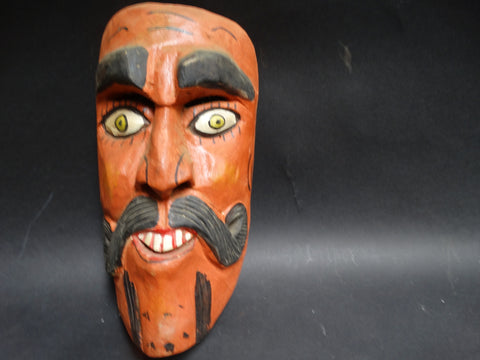 Mexican Mask - Man with Moustache