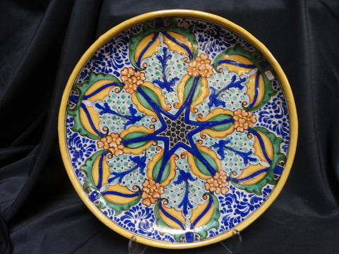 Mexican Uriarte Highly Decorated Plate